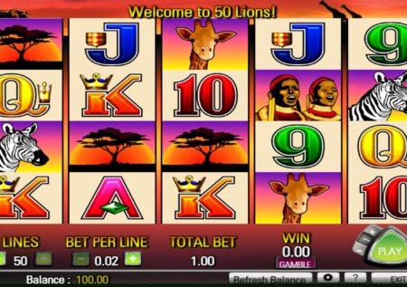 50 Lions Slots