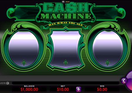 Cash Machine Slot